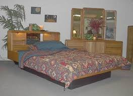 Queen Size Waterbed Headboards by Wood Frame Waterbeds At Snooze City