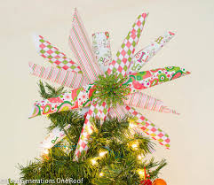 9 Merry And Bright DIY Christmas Tree Toppers
