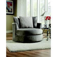 Sams Club Leather Sofa And Loveseat by Keesling Round Swivel Chair Grey Sam U0027s Club