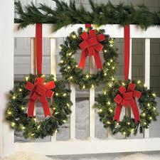 exterior christmas wreaths doublecash me