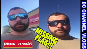 PILOT FLYING J TRUCK STOP FLAG / VLOG - YouTube
