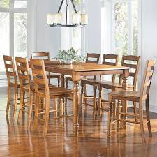 Roanoke 9 Piece Counter Height Dining Set By AAmerica ...