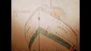 hmhs britannic drawing 100th anniversary sinking by legoguy87 on