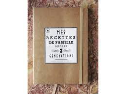 cahier de cuisine à remplir carnet de recettes à remplir pratique avec élastique ses pages