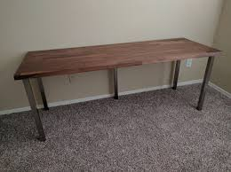 Ikea Mandal Headboard Hack by I Made A Desk With Karlby Countertop And Sjunne Legs Album On Imgur