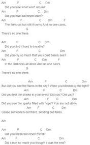 the script army of angels chords the script pinterest