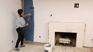 Can You Dry Scrape Popcorn Ceiling by Houzz Tv How To Paint A Wall Faster