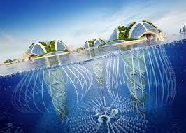 100 Water Discus Hotel Dubai Vincent Callebaut Proposes Underwater Oceanscrapers