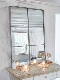 100 Loft Style Home Window Mirror Industrial Panel Mirror Mirror Wall Panels