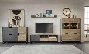 places of style wohnzimmer set malthe 4 tlg im