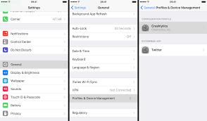 How to remove iOS configuration profiles