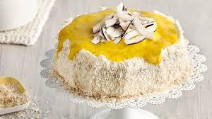 kokos mango torte