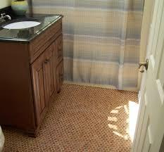 bathroom floor tile herringbone kitchen made out of pennies