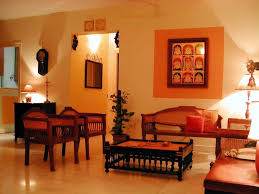 Featured Image Of Indian Living Room With Traditional Wooden Furniture