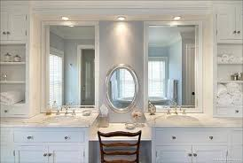 graceful bedroom bathroom vanity addl makeup area oak terrace