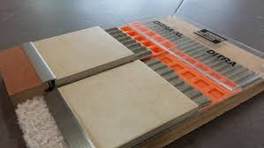 Unmodified Thinset For Glass Tile by Schluter Ditra Ditra Xl U0026 Ditra Heat Tile Lines