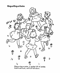 Birthday Games Coloring Page Childrens