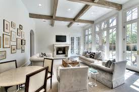 Incredible Rustic Chic Living Room Furniture Surrounded French Doors Transitional
