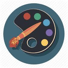 Art Brush Paint Painting Pallet Icon
