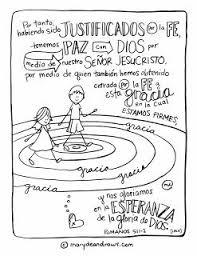 Spanish Bible Verse Coloring Page Romanos 51 2