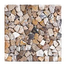 river rock tile river rock tumbled mosaic tile river rock tile