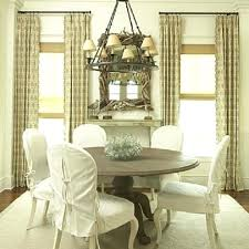 Round Back Chair Covers Awesome Best Slipcovers Images On Bedrooms With Regard To Dining Room