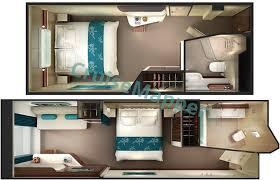 Ncl Breakaway Deck Plan 14 by Norwegian Breakaway Cabins And Suites Cruisemapper
