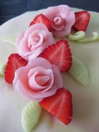 gateau fruit pate d amande cake p ps d and fruit