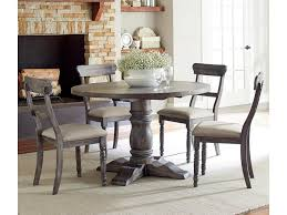 Progressive Furniture Muses 5-Piece Round Dining Table Set With ... 5 Pc Small Kitchen Table And Chairs Setround 4 Beautiful White Round Homesfeed 3 Pc 2 Shop The Gray Barn Spring Mount 5piece Ding Set With Cm3556undtoplioodwithmirrordingtabletpresso Kaitlin Miami Direct Fniture Upholstered Chair By Liberty Wolf Of America Wenslow Piece Rustic Alpine Newberry 54 In Salvaged Grey Art Inc Saint Germain 5piece Marble Set 6 Chairs Tables