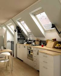 Attic Kitchen Ideas Loft Kitchen Design Ideas
