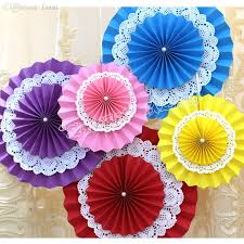 2018 Wholesale 20cm Paper Fan Flowers Design Cute Crafts Idea For Birthday Party Home Wall Decorations From Georgely 1583
