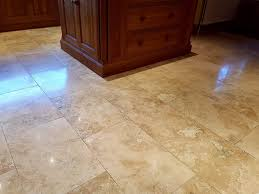 Burnishing Floors After Waxing by Burnishing And Sealing To Restore Travertine Tiles In Bury
