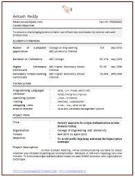 Tcs Resume Format For Freshers Computer Engineers by The 25 Best Resume Format For Freshers Ideas On