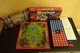 Vintage STRATEGO Board Game 1996 Milton Bradley Complete Set