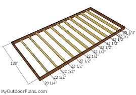 12 X 24 Gable Shed Plans by 12x24 Shed Plans Myoutdoorplans Free Woodworking Plans And