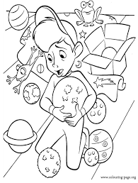 Mess At The Science Fair Coloring Page