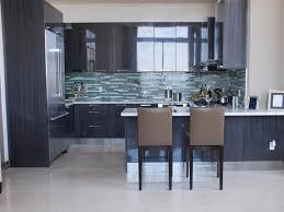 Kitchen Tile Backsplash Ideas With Dark Cabinets by 100 Contemporary Backsplash Ideas For Kitchens Home Design