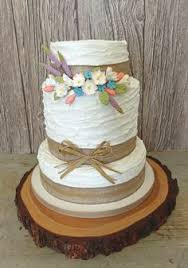 A Perfect Cake For Country House Or Barn Wedding The Is Coated In