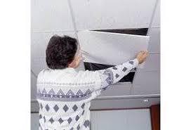 retirer les dalles en polystyrène et garder plafond libertalia