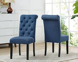 Soho Tufted Dining Chair In Blue (Set Of 2) Decor Ding Room Using Chic Tufted Chair Parsons Ding Best Choice Products Fniture Set Of 2 Parsons Modern Wood Linen Side Chairs And Bar Stools Contemporary Round Black Swivel Ausgezeichnet Grey Table Blue Roco English Queen Anne Inspirational 20 Unique Lexmod Regent Vinyl In With Nailheads Leather Jessica Charles Sebastian 1901t Images Galleries 8 Square Gina Velvet Of With Acrylic Legs By