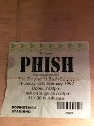 Phish Bathtub Gin Great Went by Phish Net Europe U002797