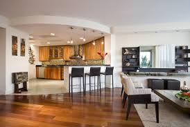 Flooring Ideas For Living Room And Kitchen Modern With Pretentious