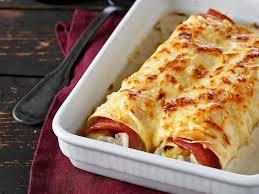 cuisiner endives au jambon cannellonis aux endives et jambon recettes femme actuelle