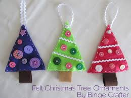tree decorations to make with felt holliday decorations