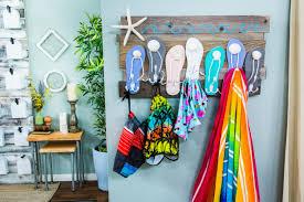100 Flip Flop Homes DIY Beach Towel Rack Home Family Hallmark Channel