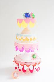 Cake Stand Bunting DIY