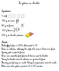 recette de cuisine gateau une eacute e de cuisine dans ma classe agrave moi hellip 1