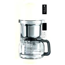 Kitchenaid Coffee Maker Troubleshooting Instructions Makers Simple Design Decor