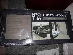 neo tile groove light grey ceramic tile west shore langford