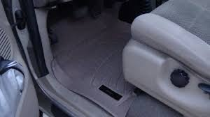 weathertech ford f150 floor liner install and review youtube